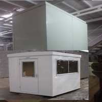 Prefabricated Porta Cabin PUF Insulation