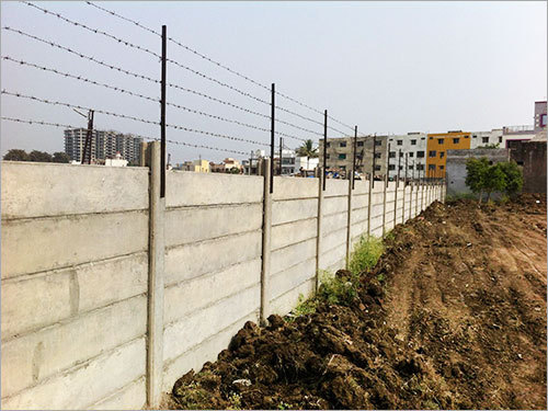 Precast Security Fence Wall