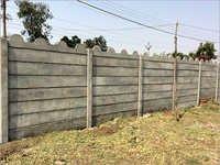 Pre Stressed Boundary Wall