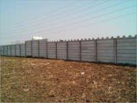 Folding Boundary Wall