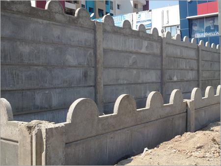 Garden Curbing Precast Wall