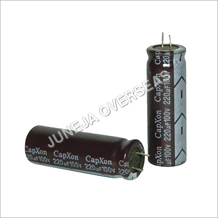 220Uf 100V Electrolytic Capacitor