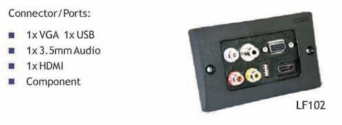 Wall Face Plate LF 102