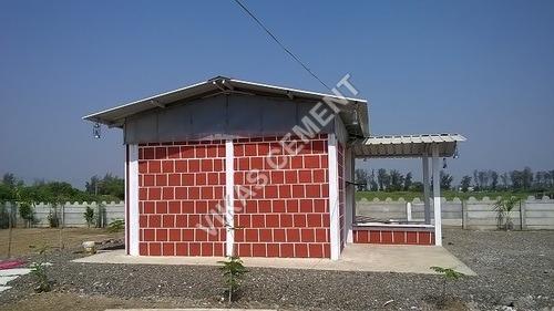 RCC Compound House Wall