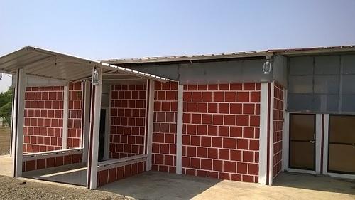 farm house wall