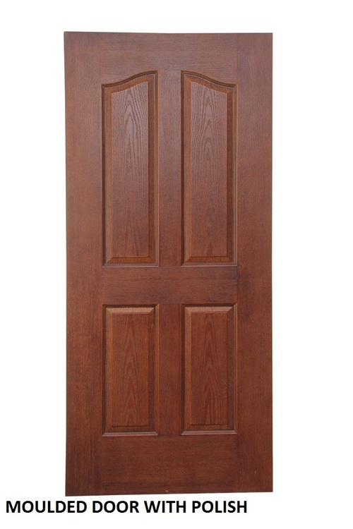 Moulded Door With Polish