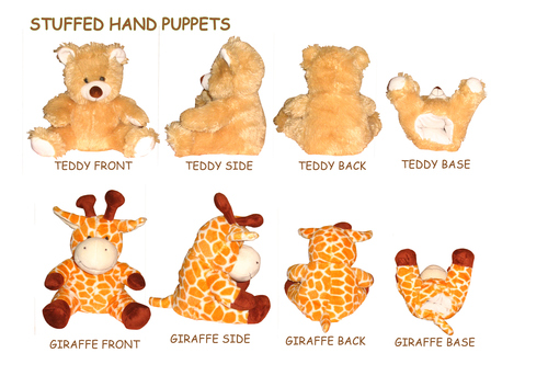 Stuffed Hand Puppet