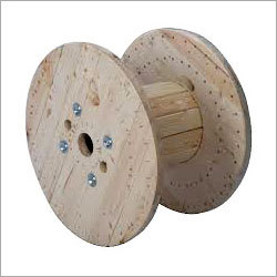 Jungle Wood Cable Drum