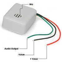 CCTV Audio Mic Self Adhesive