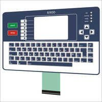Illuminated Membrane Keypad