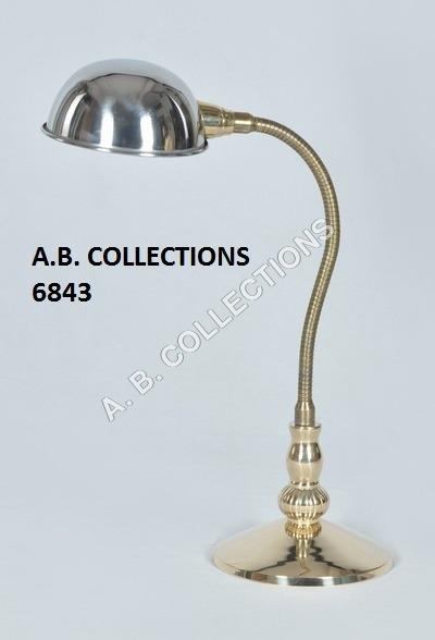 FLEXIBLE ROUND BALL DESK LAMP
