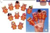 1 TO 10 Hand Puppets