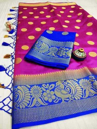 Crepe Silk Designer Saree