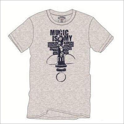 Mens Grey T-Shirts