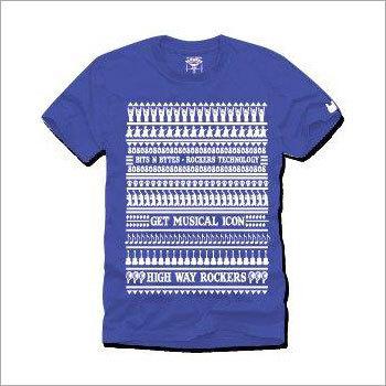 Mens Blue T-Shirts