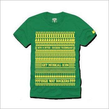 Mens Green T-Shirts