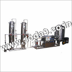 Carbonated Water Bottling Plant