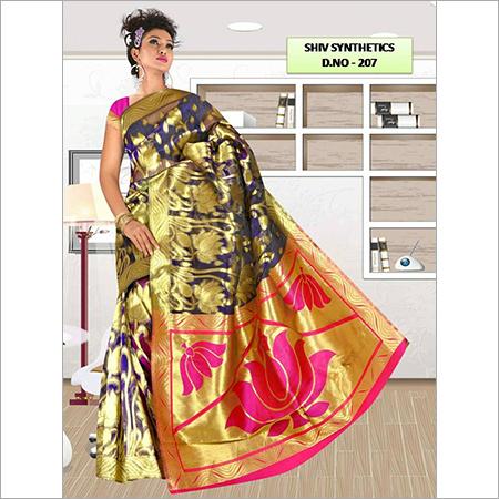 Custom Printed Sarees