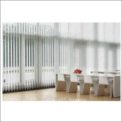 Silver Vertical Blinds