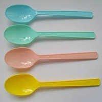 Plastic Chocolate Spoon