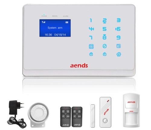 Burglar Alarm System With Gsm & Pstn