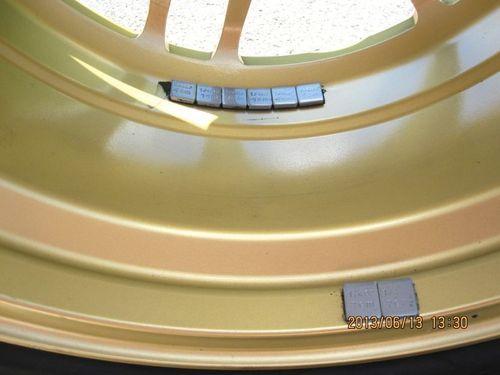 Wheel Balancing Adhesive Weights