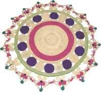 Designer Round Rug