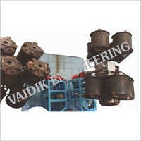 Bi Axial Rotational Moulding Machine