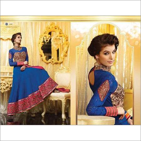 Party Wear Long Anarkali Dress