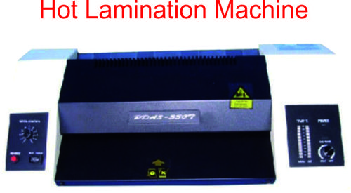 A/3 Heavy Lamination machine