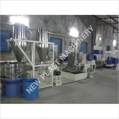 Calcium Carbonate Filler Masterbatch Machine