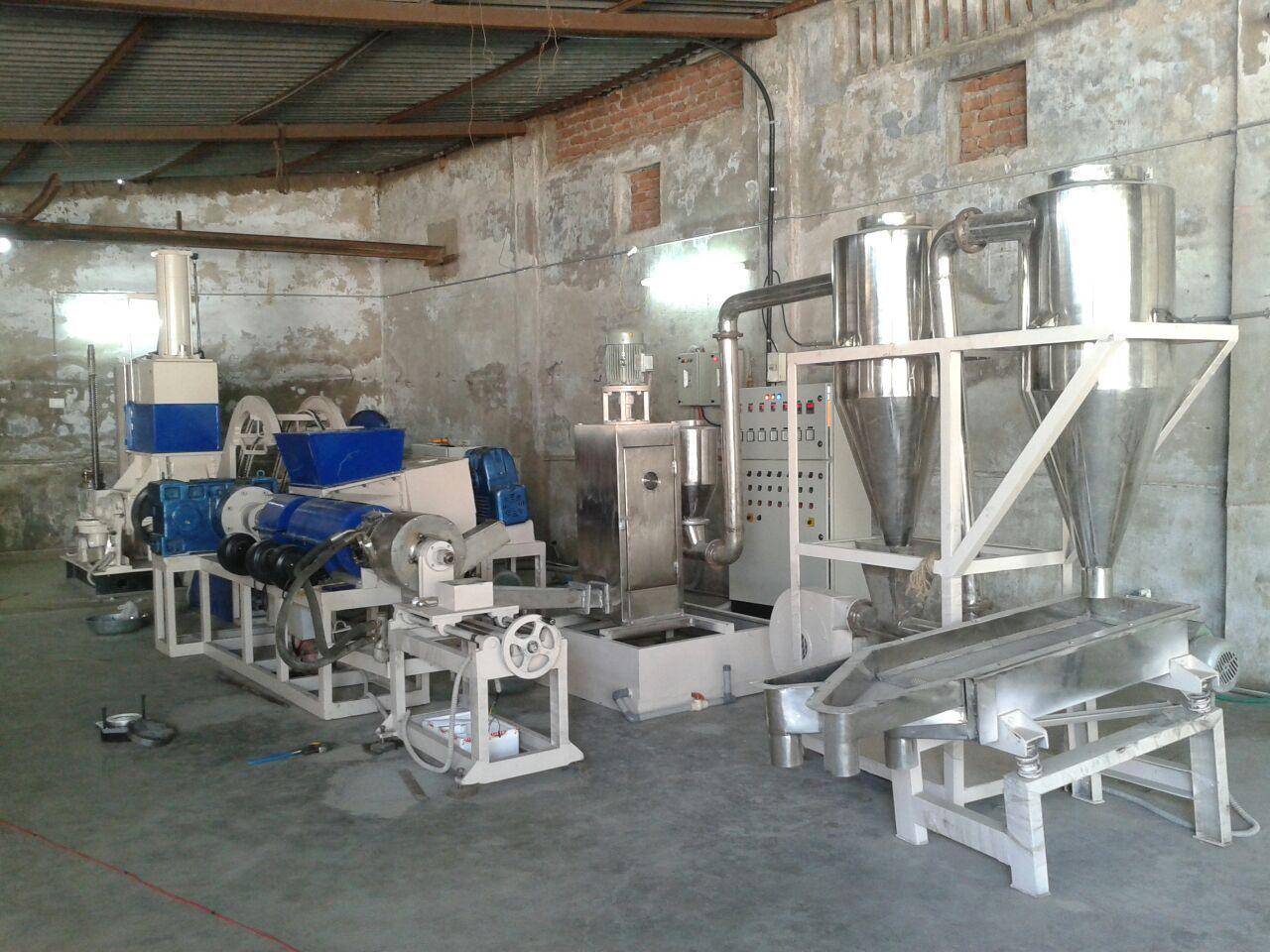PP Filler Compounding Machine
