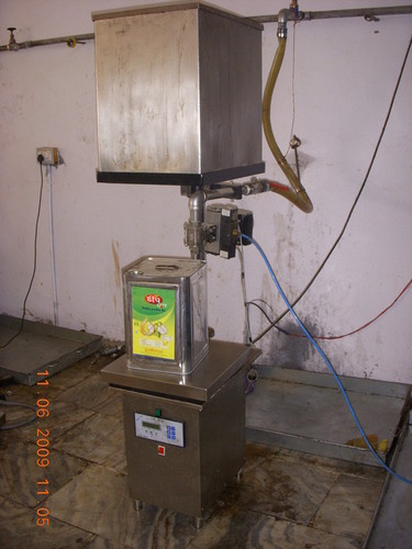 Oil Tin Filling Machine
