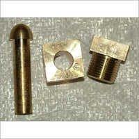 Oxygen Brass Manifold Nut Nipple