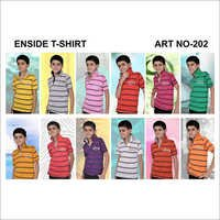 Kids Stripe Printed T Shirts