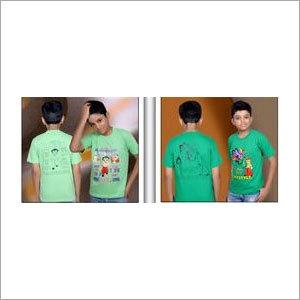 Round Neck Printed T Shirts