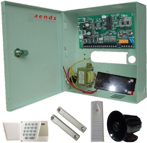 5 to 128 zones wired panel alarm