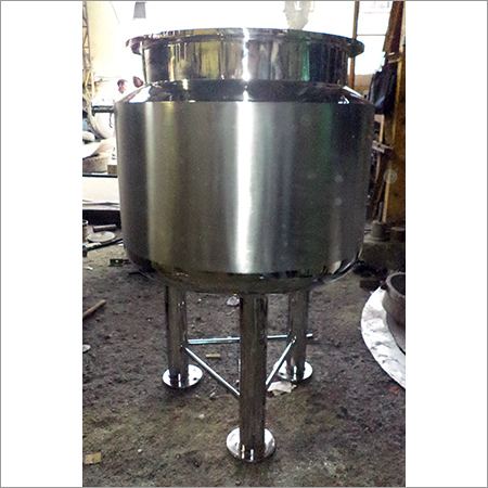 Stainless Steel Syrup Mixing Tank
