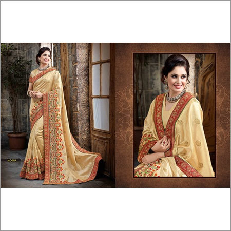 Embroidery silk sarees