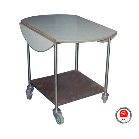 Foldable Room Service Trolley