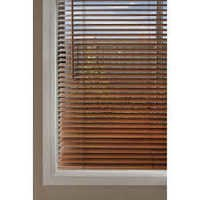 Bass Wood Printed Venetian Blind