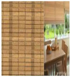 JUTE FINISHED ROLLER BLINDS