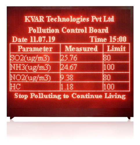LED Display for Production