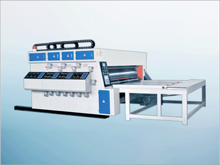 Water Ink Printing Slotting Machine