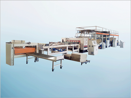 Single Facer Corrugated Cardboard Production Line