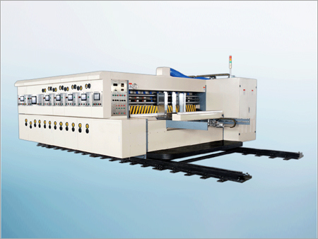 Automatic Printing Slotting Die Cutting Machine