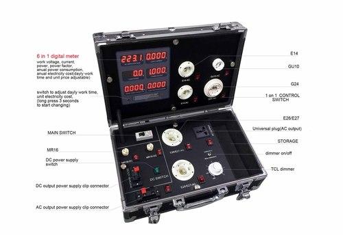 Led light electric parameter demo case