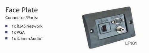WALL FACE PLATE LF-101