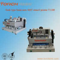 Semi-automatic desk high precision solder screen printer T1100 for electric industry for SMT