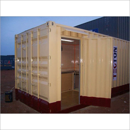 Portable Toilet in Container